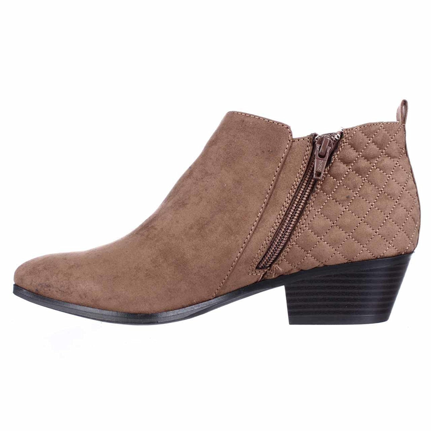 Style & Co. Womens Wessley Almond Toe Ankle Fashion Boots, Maple, Size 6.5