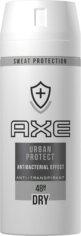 AXE Urban Advanced - Desodorante antitranspirante en Aerosol para hombre, 48 horas de protección, 150ml, 1 unidad