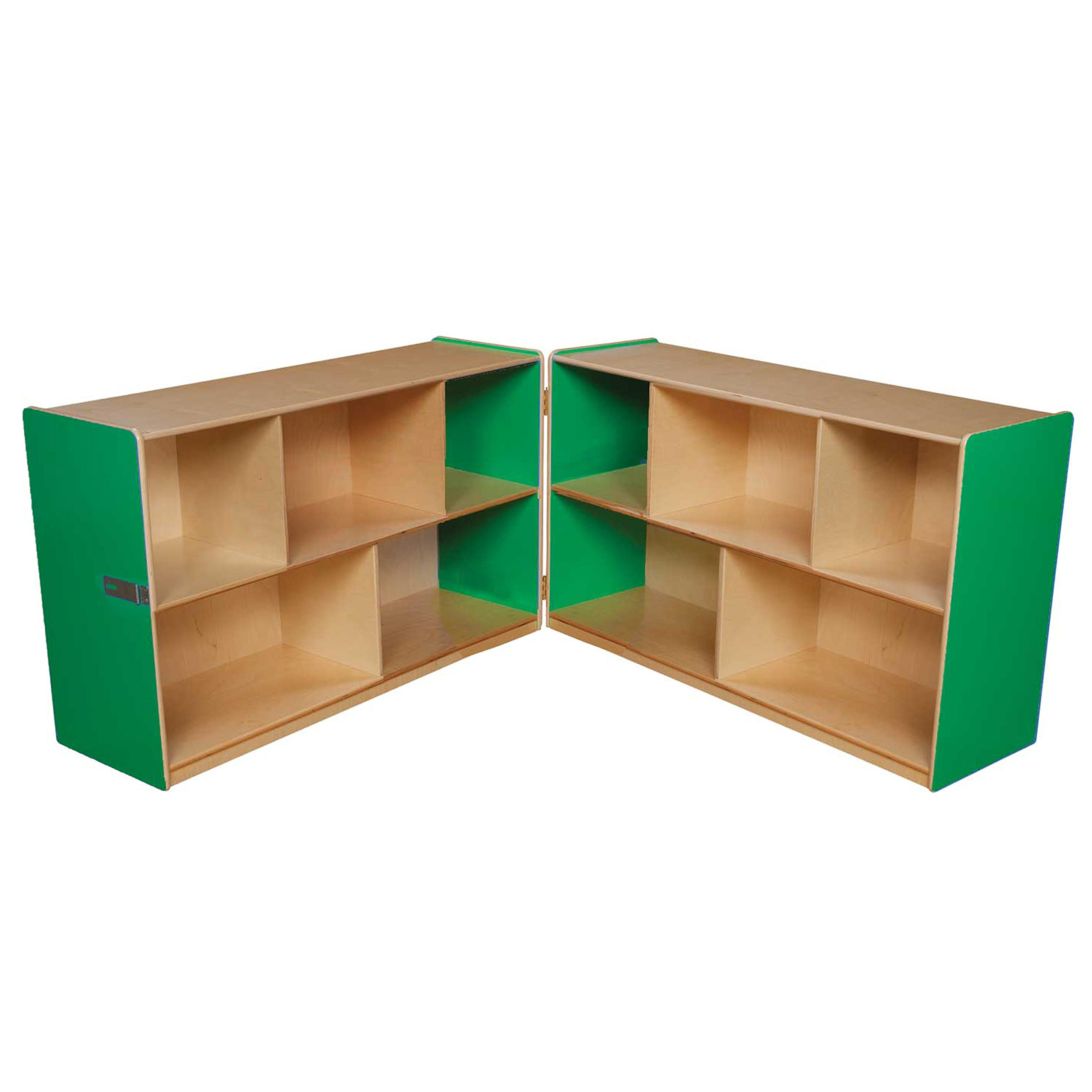 Wood Designs 13100G Green Apple Folding Storage, 30''H