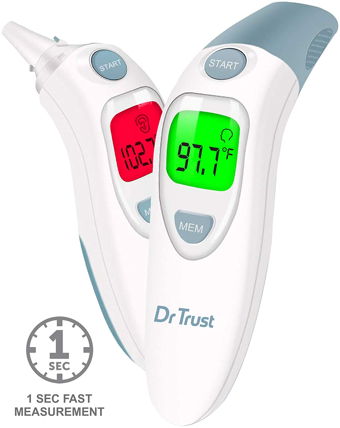 Dr. Trust Clinical Digital Ear Infrared Thermometer