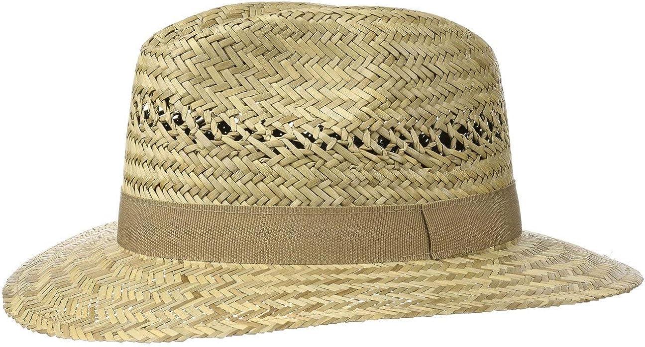 Cappello in 100/% Paglia L e XL Lipodo Traveller Cappello di Paglia da Uomo Prodotto in Italia Cappello da Sole in S M Cappello di Paglia con Fascia in Gros-Grain