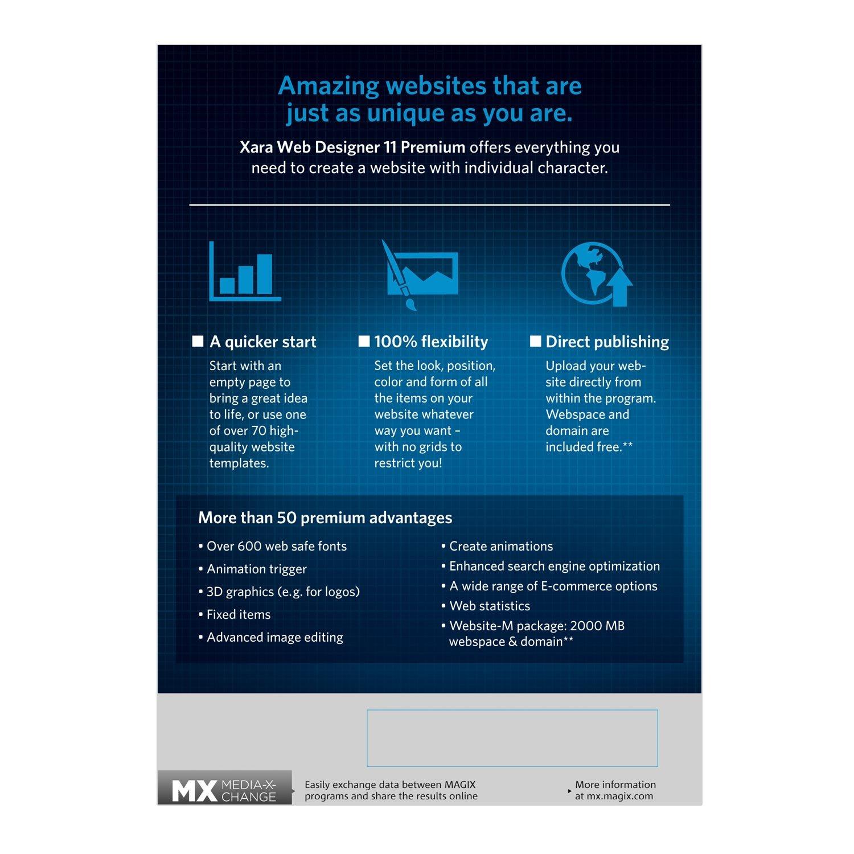 Amazon.com: Xara Web Designer 11 Premium: Software