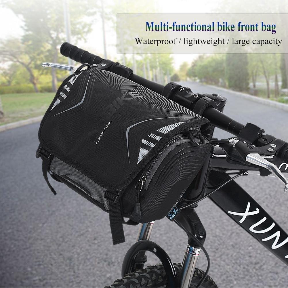 VGEBY1 Bolsa de Manillar de Bicicleta, Bolsa de Tubo Frontal de ...