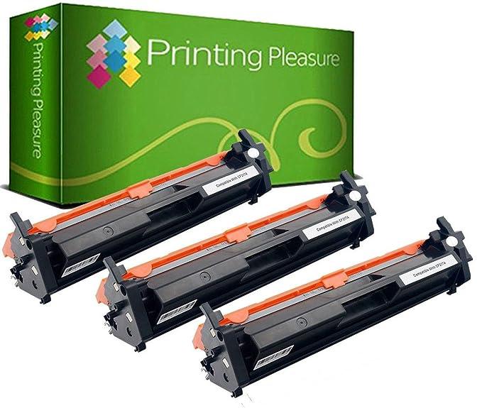 Printing Pleasure 3X Tóner Compatible con HP Laserjet Pro M102 ...