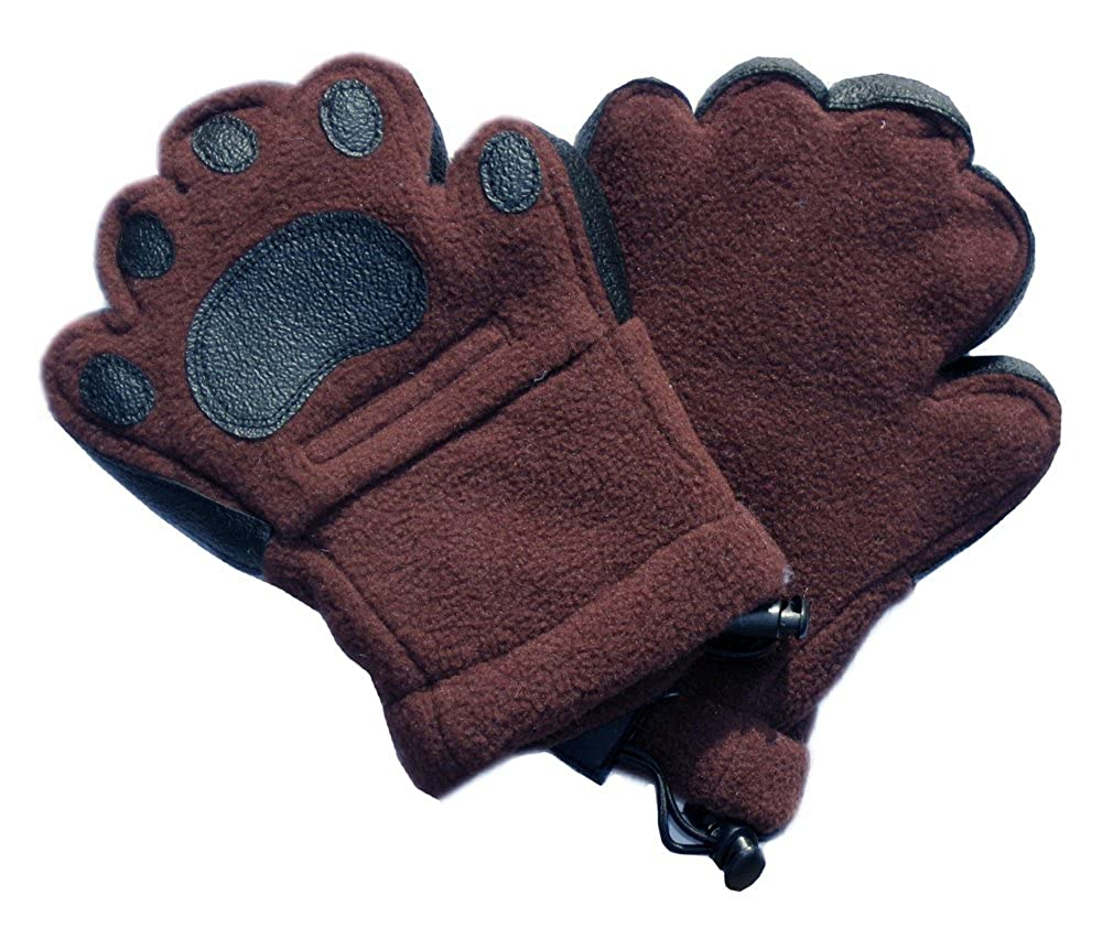 BearHands ThinsulateTM Fleece Mittens Child with handy flap opening for when fingers are needed!