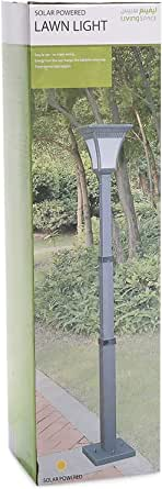 Living Space Solar Light Stand With Adjustable Height