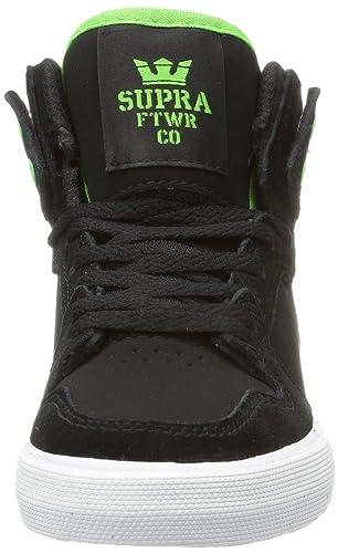 Supra KIDS VAIDER S11018K, Jungen Sneaker, Schwarz (BLACK / SOFT LIME - WHITE  BKL), EU 32 (US 1): Amazon.de: Schuhe & Handtaschen