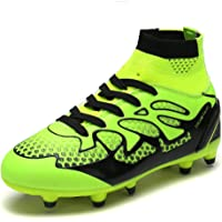 best service c8bef e9365 DREAM PAIRS Boys Girls Athletic Soccer Football Cleats Shoes(Toddler Little  Kid Big