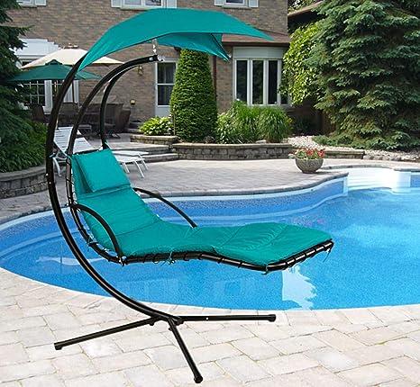 Amazon.com: Sillón de playa para colgar en la piscina ...