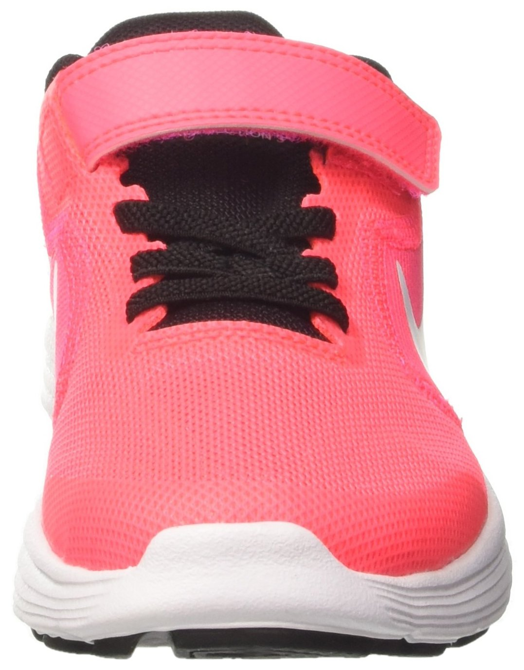 NIKE Kids' Revolution 3 (Psv) Running-Shoes, Black/White/Racer Pink/Black, 1 M US Little Kid by Nike (Image #4)