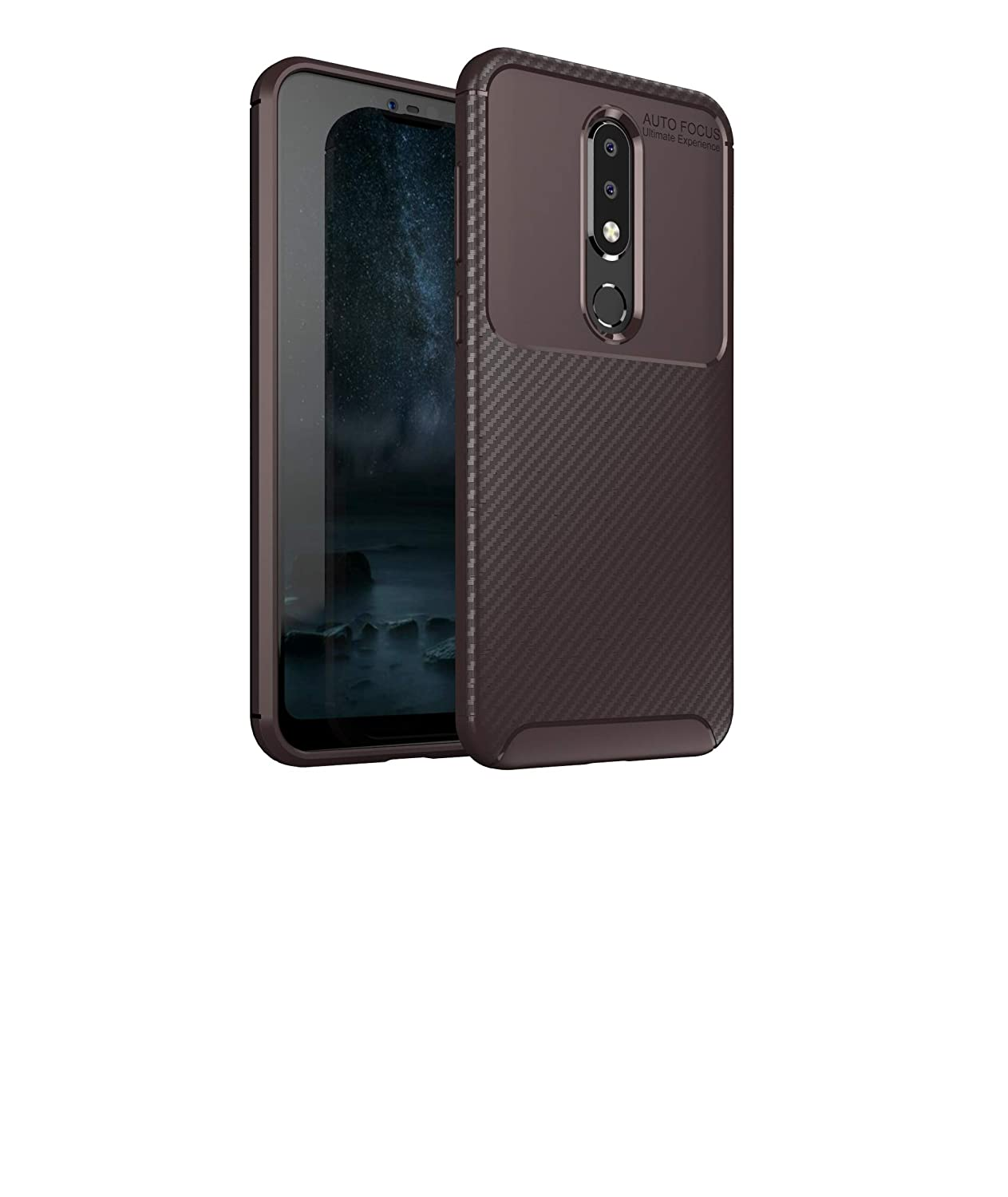Amazon.com: Case Compatible with Nokia 6.1 Plus (Nokia X6 ...