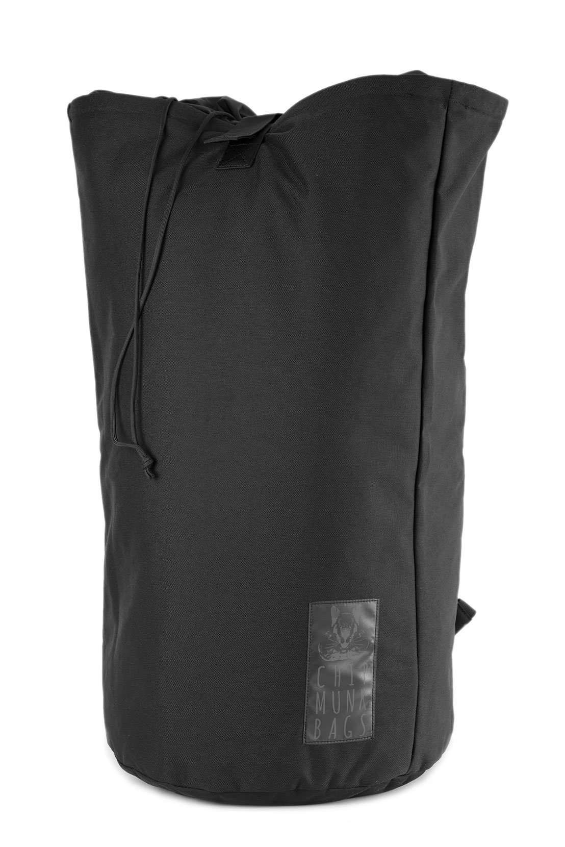 ChipmunkBags Laundry Backpacks | Durable Laundry Bags For College Students & Urban Dwellers (Large, Black)