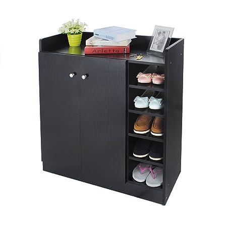 black metal storage cabinet. Fine Metal Shoe Cabinet HST Mall Storage Cupboard Rack In BlackMetal Handles2 On Black Metal Cabinet