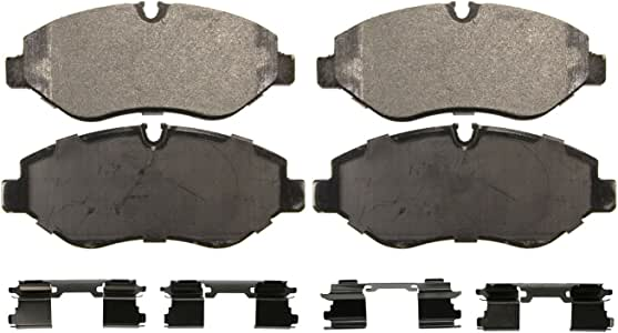 Wagner Severe Duty SX1316 Semi-Metallic Disc Pad Set Includes Installation Hardware, Front
