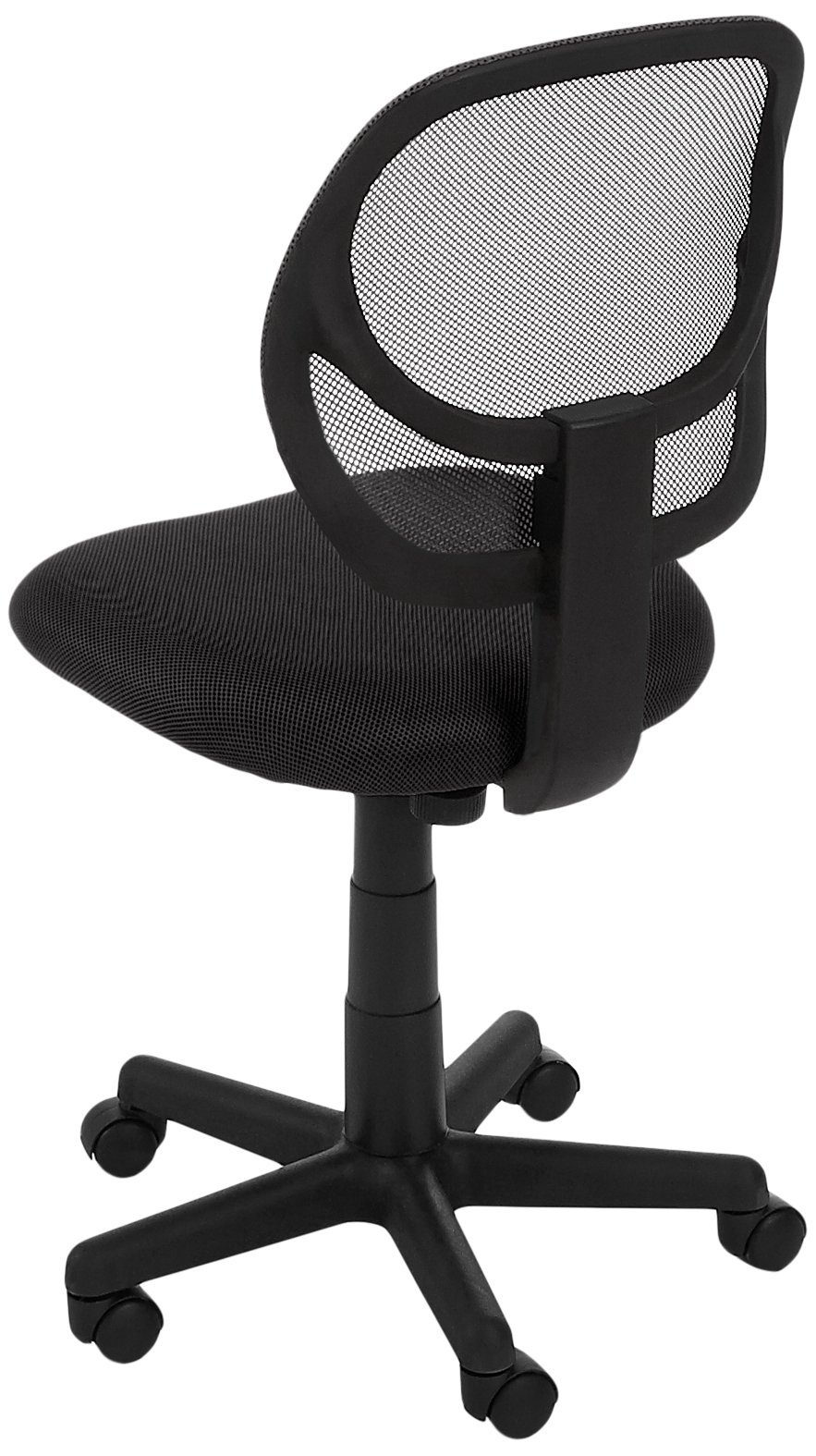 AmazonBasics Low-Back Computer Task/Desk Chair with Swivel Casters - Black by AmazonBasics (Image #6)