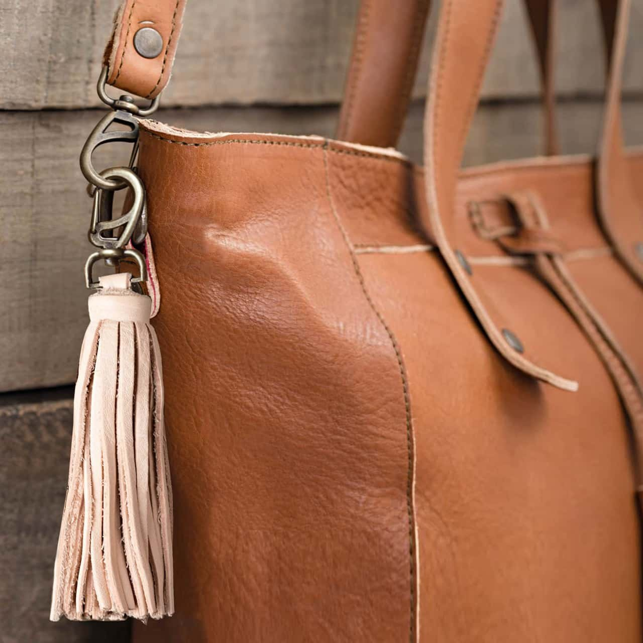 Love 41 Clip on Leather Tassel Includes 41 Year Warranty by love (Image #2)