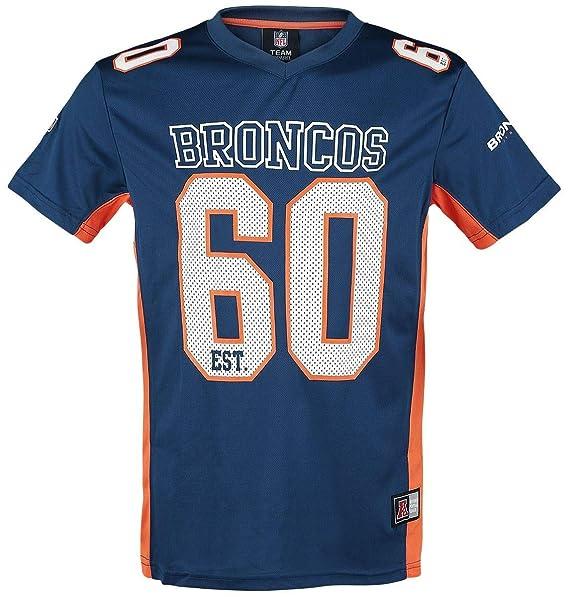 Y Azul Broncos Ropa Camiseta Accesorios Nfl Denver Amazon es