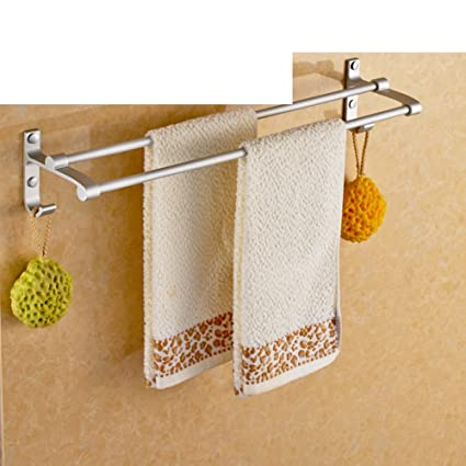 Baño espacio aluminio toallero/Baño toallero de barra/Baño toallas colgante- B