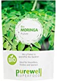 MORINGA Pulver - Bio Moringa Superfood für Smoothies, Shakes u. Speisen (180g BIO Moringa Pulver)