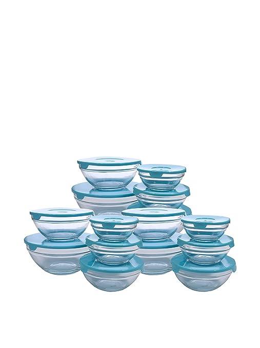 Santa Clara Set 15 Bowls Cristal