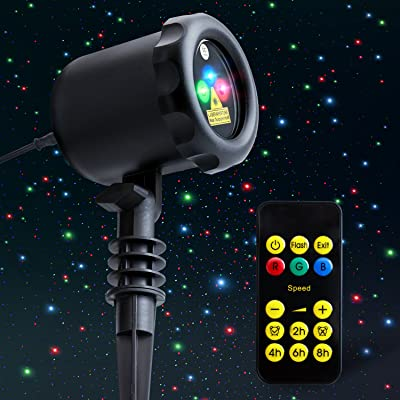 Outdoor Laser Light Projector MYCARBON Red Green Blue Laser Lights for Christmas