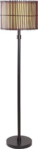 Kenroy Home 32280BRZ Bora Floor Lamp