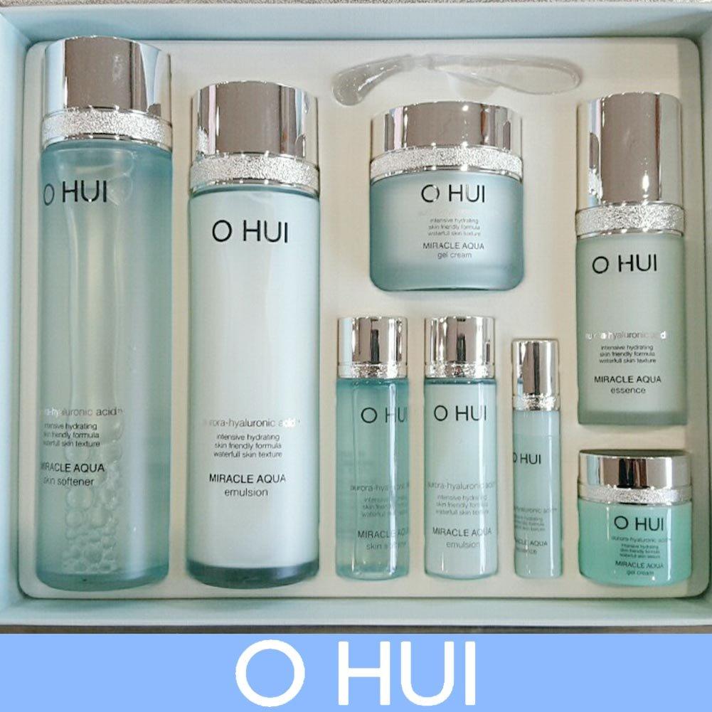 [オフィ/ O HUI]韓国化粧品 LG生活健康/ O HUI MIRACLE AQUA SPECIAL SET/ミラクル アクア 4種セット  + [Sample Gift](海外直送品)   B01BKBM7T4