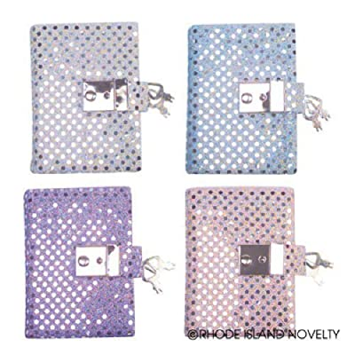 Teen Girl's Locking Secret Diary Journal with Sequins: Toys & Games
