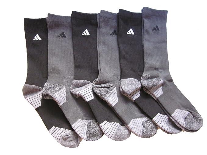 249327b2e adidas Men's Athletic Crew Socks (6-Pack) (Shoe Size 6-12 at Amazon Men's  Clothing store: