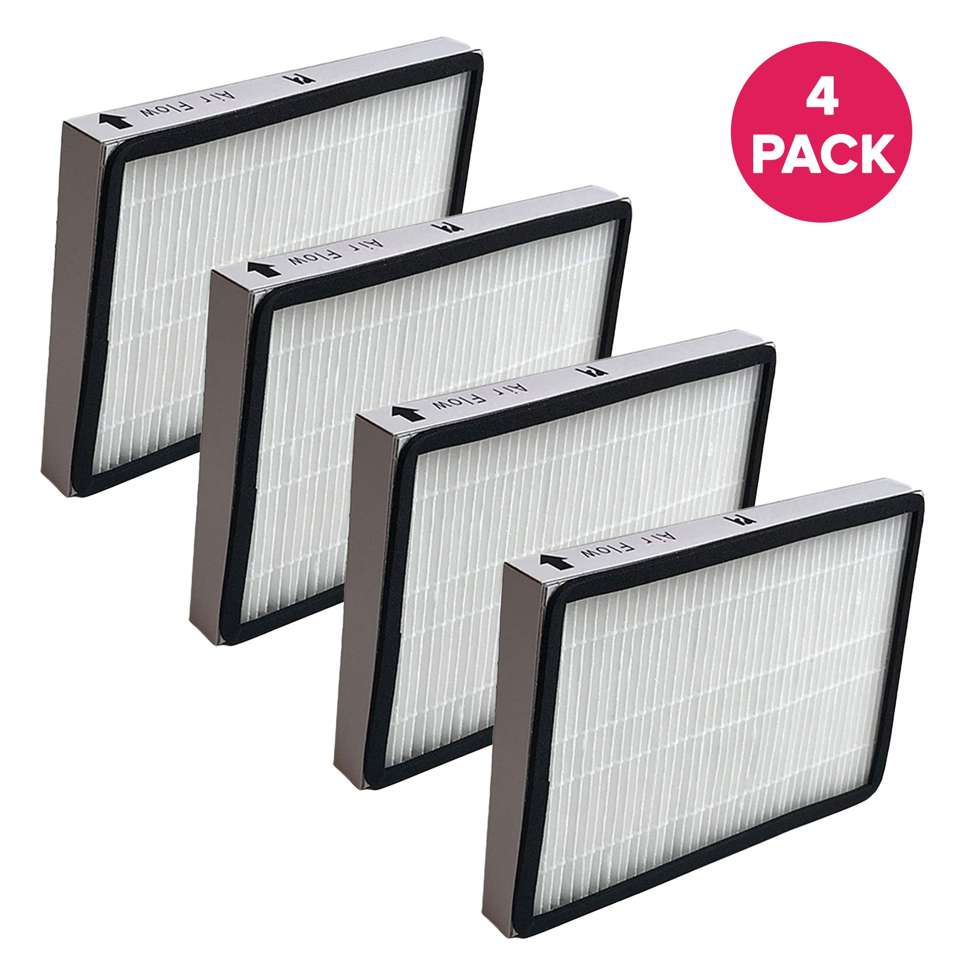 Crucial Vacuum Air Filter Replacement Part # 86889, 20-86889, 40324 - Compatible with Kenmore Vacs - Kenmore EF1 HEPA Style Filter Fits Whispertone & Progressive - Cardboard, Reuseable (4 Pack)