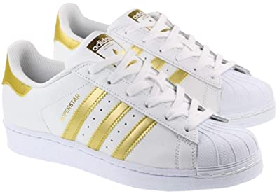 adidas superstar shoes gold