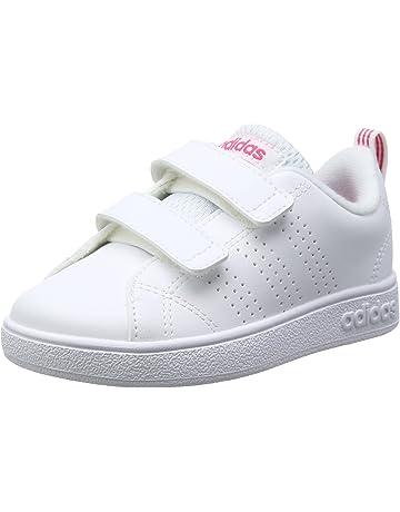 best cheap 5361e 05b3c Adidas Vs Advantage Clean Cmf Inf Baskets Basses, Mixte Bébé, blanc, 25 EU