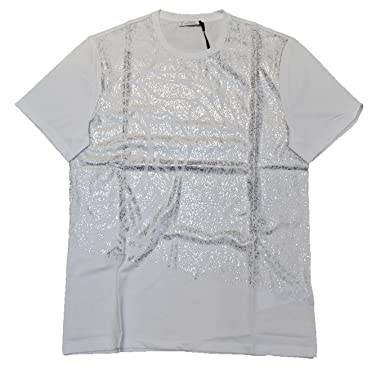 b1db445aa37a Amazon.com  Versace Collection Mens All Over Printed T shirt ...
