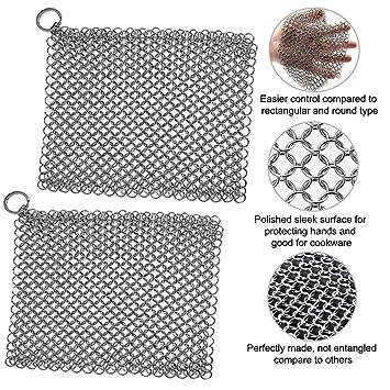 Amazon.com: Washieldz - Limpiador de hilo de hierro fundido ...