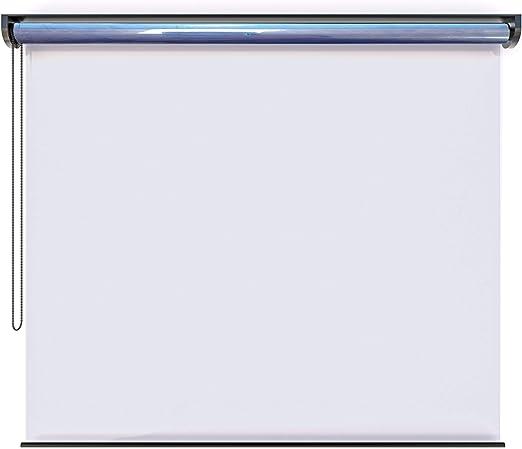 EB ESTORES BARATOS Mampara Protectora Enrollable de PVC. Transparente e Incolora. Fabricación a su Medida Desde 40 a 186 cm de Ancho: Amazon.es: Hogar