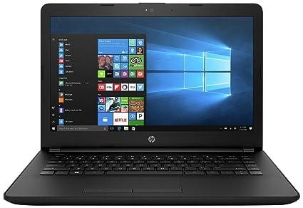 HP 14q-BU005TU 2017 14-inch Lightweight, Laptop (Core i3-6006U/4GB/1TB/Windows 10/Integrated Graphics), Jet Black
