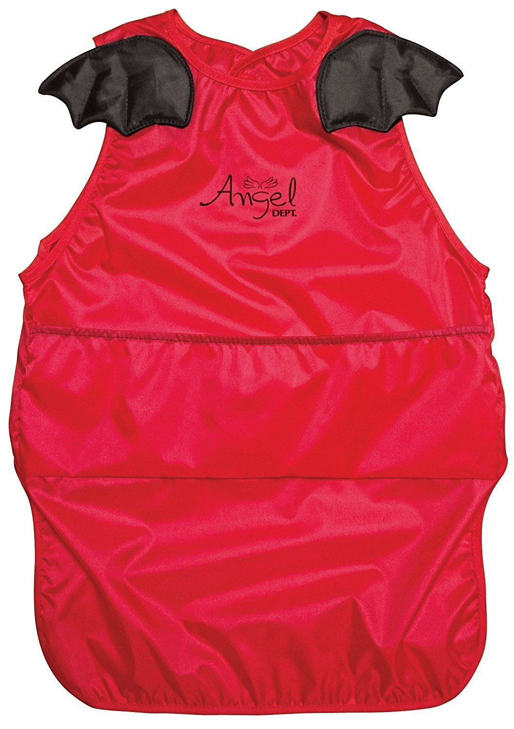 Angel DEPT Baby Toddler Sleeveless Feeding Apron (L, RED)