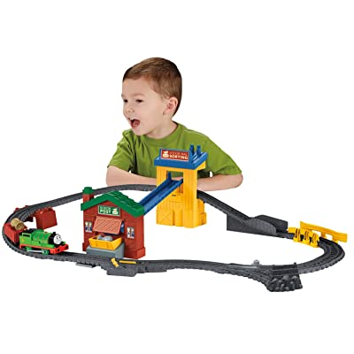 Fisher-Price Thomas & Friends TrackMaster, Sort & Switch Delivery Set: Toys & Games