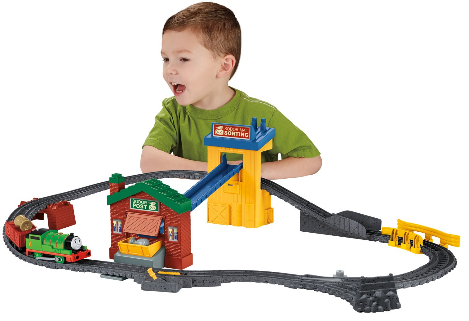 Thomas & Friends Fisher-Price TrackMaster, Sort & Switch Delivery Set