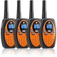 $29 » Walkie Talkies 4 Pack, MTM 22 Channels Two Way Radios Walkie Talkies for Kids and Adults…