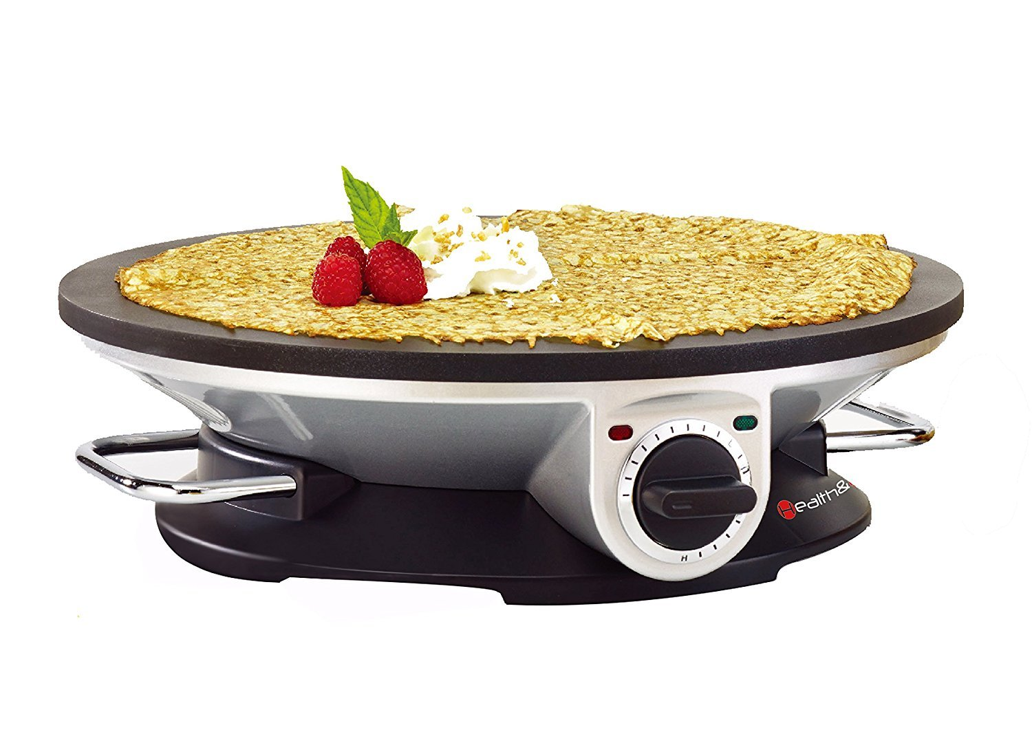 Health and Home No Edge Crepe Maker - 13 Inch Crepe Maker & Electric Griddle - Non-stick Pancake Maker- Waffle Maker- Crepe Pan by Health and Home COMINHKPR148712