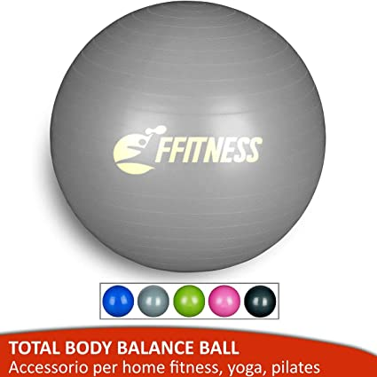 Balón de equilibrio total (55 65 75 85 95 cm). Pelota suiza grande ...