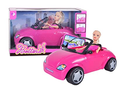Bettina Fashion Beauty Doll with Car and Dress Play Set in Window Box
