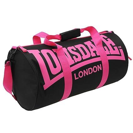 e418eb6e6a sac de sport lonsdale femme noir et rose: Amazon.fr: Bagages