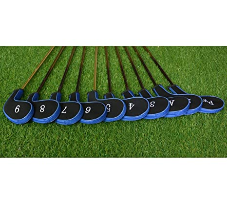 Set 10 Golf Club Golf cabeza tapa protectora hierro ...
