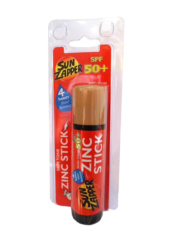 Sun Zapper, tonico per pelle con zinco, SPF 50+ (etichetta in lingua italiana non garantita)