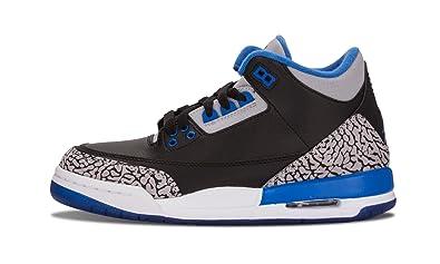 59a0e17ce2aaef Image Unavailable. Image not available for. Color  AIr Jordan 3 Retro BG -  5.5Y  quot Sport Blue quot  - 398614 007