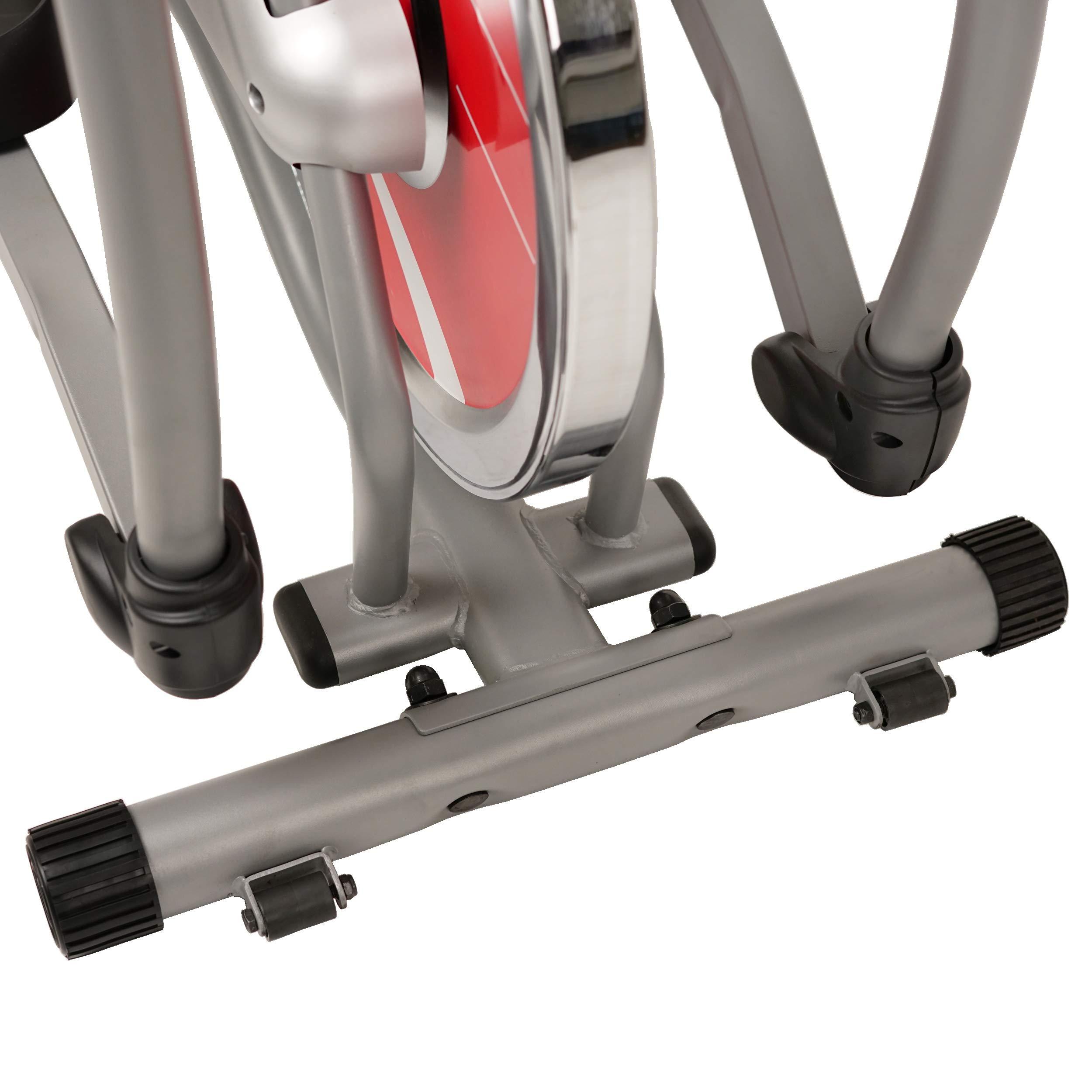 Sunny Health & Fitness SF-E1405 Flywheel Elliptical Trainer, Gray by Sunny Health & Fitness (Image #9)