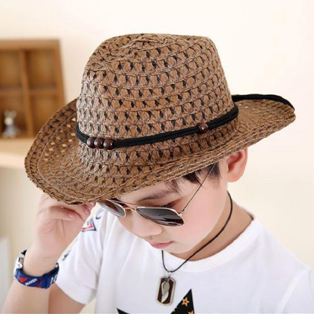 80e31acd724d9f Amazon.com: ShenPourtor Women/Men's Summer Cool Short Brim Straw Fedora Sun  Hat WIth Stylish Hat Band (Baby_White): Toys & Games