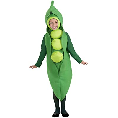 Forum Novelties Fruits and Veggies Collection Peas in a Pod Child Costume, Large: Toys & Games